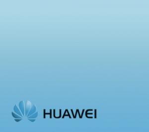 Логотип Huawei по блокированному телефону