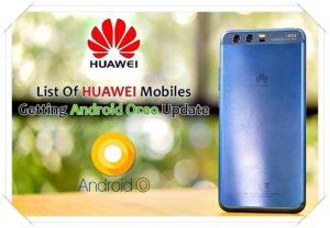 Логотип HUAWEI список ANDROID
