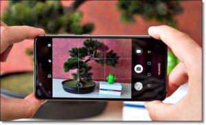 Съёмка на смартфон Huawei