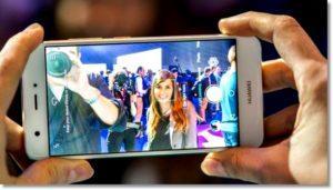 Съёмка на Huawei nova1