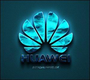 Логотип Huawei в тёмно синем цвете