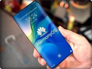 Смартфон Huawei c ОС Harmonyos