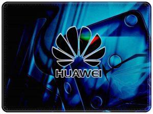 Логотип Huawei на синем
