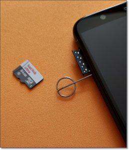 10 Извлечь SD-карту