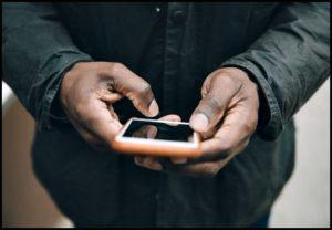 Телефон в чёрных руках