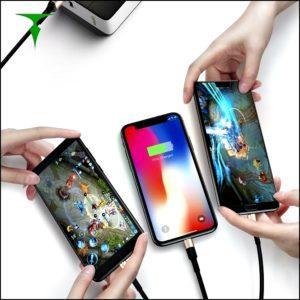 Одновременная подзарядка смартфонов