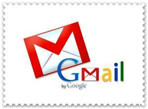 Марка с логотипом Gmail