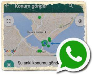 Турецкая карта в WhatsApp