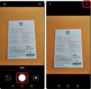 10 и 11Сканировать Google Диском