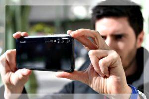 Съёмка на камеру смартфона