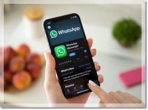 Экран WhatsApp c Тёмной темой