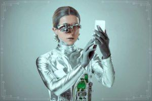 Женщина робот