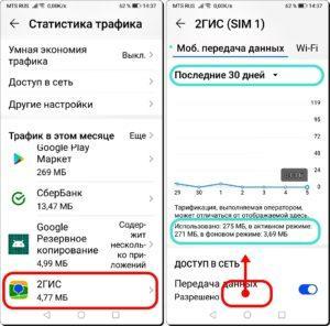 5 и 6 Лимит на Мобильный Интернет