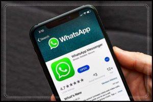 WhatsApp на экране смартфона